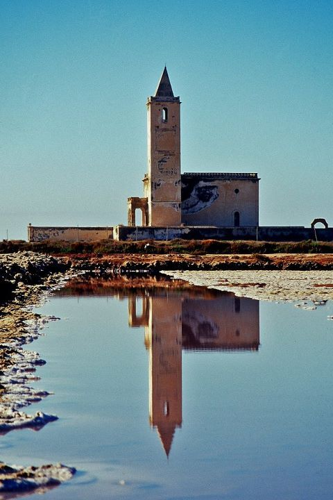 a church in the Cabo de Gata natural park (Almeria - Spain) by photographer Jorge Jimenez Rapallo (the church has been renovated since this photo was taken)