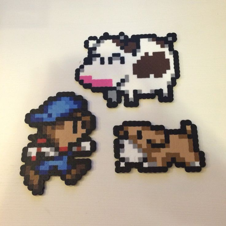 Harvest Moon GBC magnets with shading by Beardian on Etsy