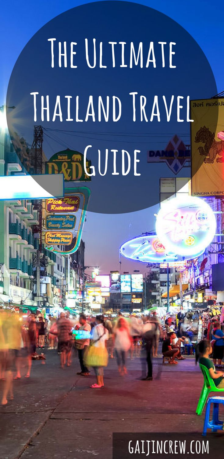 Thailand travel guide| Travel destinations Asia| travel tips and tricks| travel essentials| travel ideas