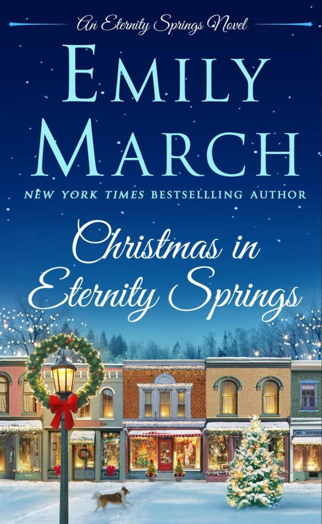 Emily March's Christmas in Eternity Springs is a great romance book to read over the holidays.