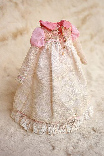 Pink Lace - clothes for Blythe - Frederique