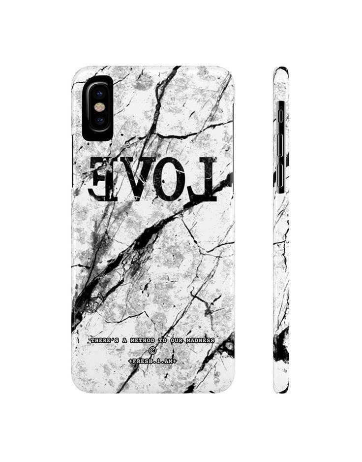 EVOL WHITE MARBLE iPhone X case