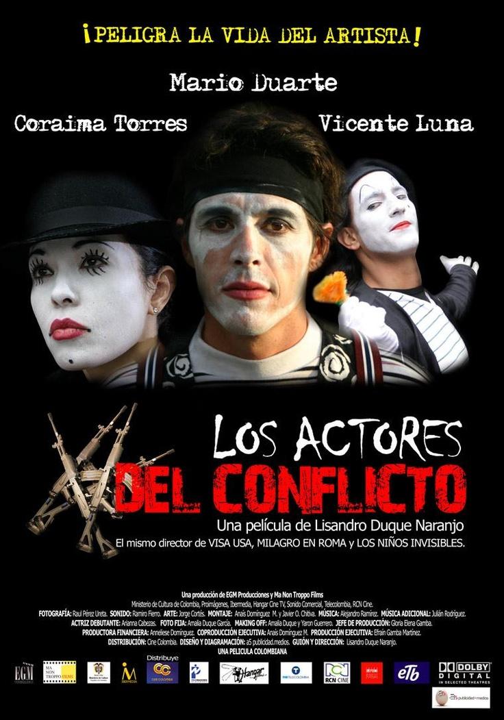 Los actores del conflicto (2008)