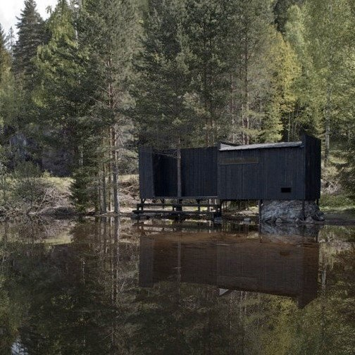 This is the most beautiful Sauna I know about - in Norway