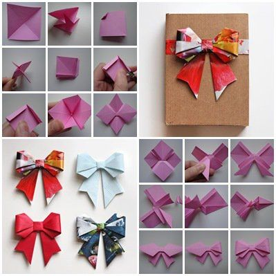 how to make ribbon using paper