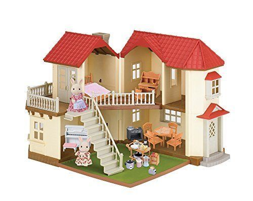 Calico Critters Family Luxury Townhome Play Set Animal Kids Toy Gift  | eBay