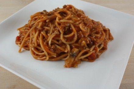 One Pot Spaghetti Recipe on Yummly