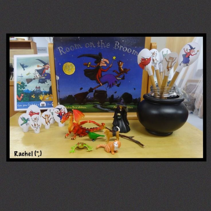 Kinder Garden: The 42 Best Room On The Broom Crafts And Activities Images