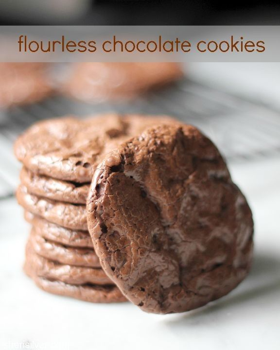 chocolate cookies flourless chocolate chocolate cookies candy ...