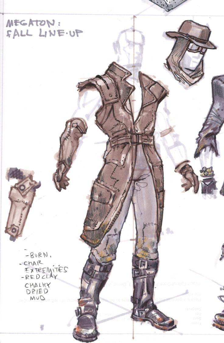 Fallout 4 Character Design Tutorial : Best ideas about fallout concept art on pinterest