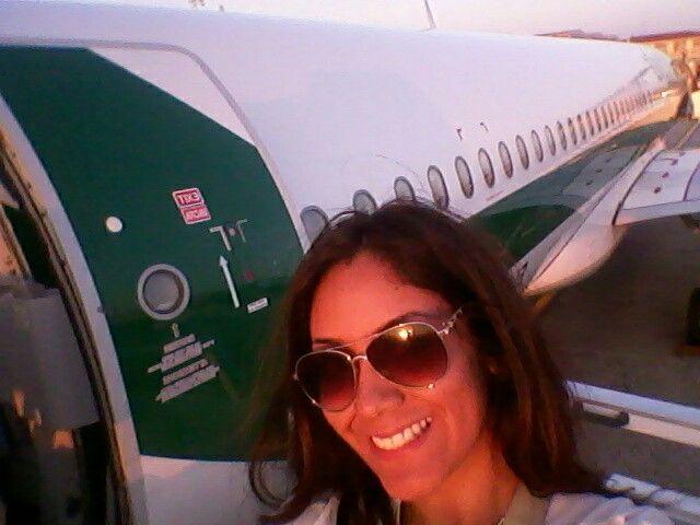 Milan, plane waiting for me. V.I.P