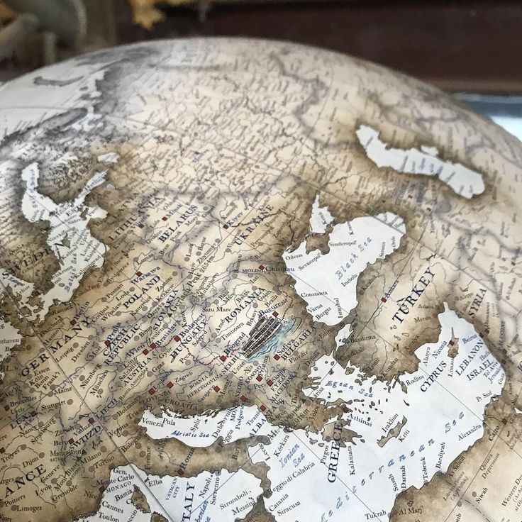 Austria On Map Of World%0A Bellerby  u     Co Globemakers   globemakers  on Instagram   u   cThe Danube is one
