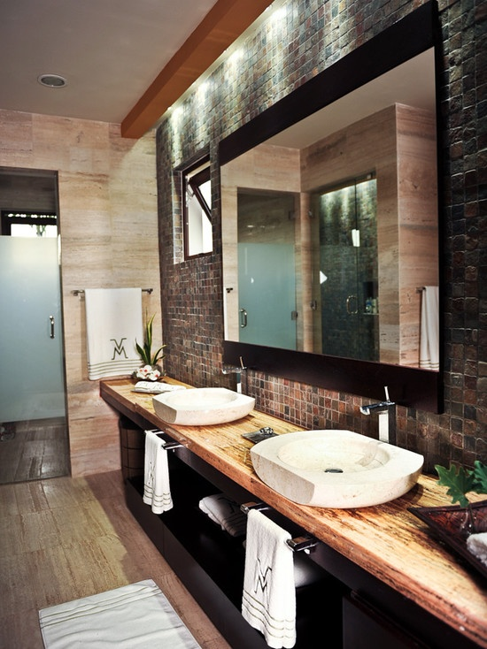 Tropical Bathroom Design, Pictures, Remodel, Decor And Ideas   Page 9