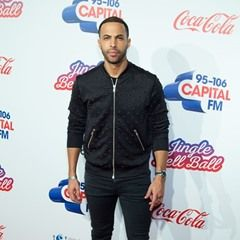 Marvin Humes at the Capital FM Jingle Bell Ball in London