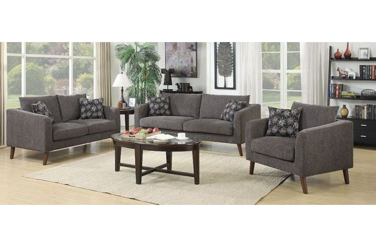 Astro Dark Gray Sofa From Emerald Home | Coleman Furniture | CR Furniture |  Pinterest | Dark Grey And Gray