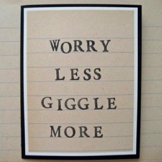 giggle more!