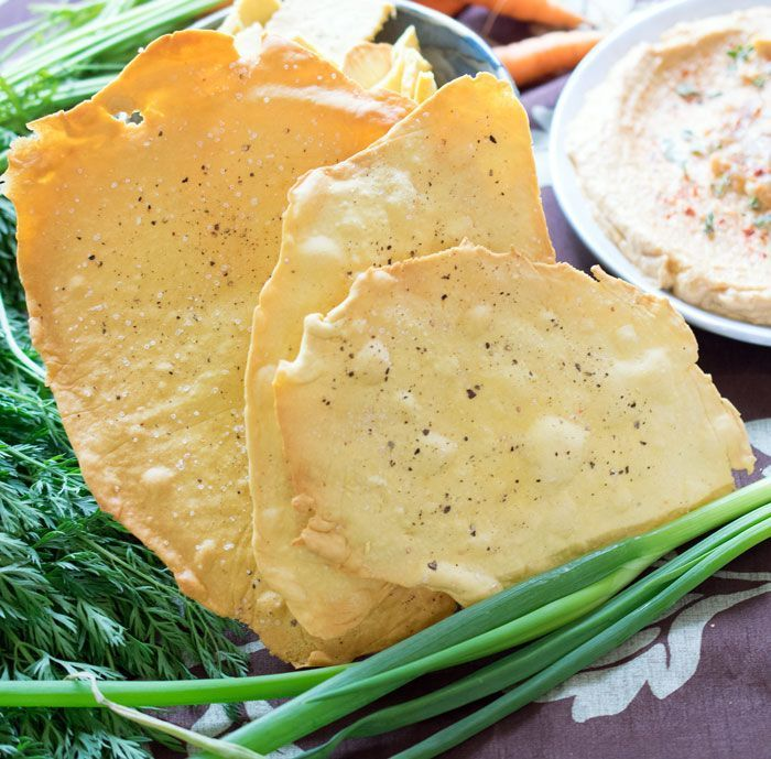 Easy Homemade Vegan & Gluten Free Chickpea Crackers!