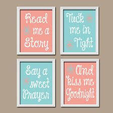 coral and teal nursery art - Google Search