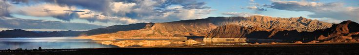 Camping/ Hiking / Swimming in Lake Mead - Sunset at Lake Mead's Boulder Basin