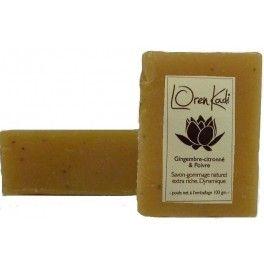 Sapun natural ayurvedic cu uleiuri esentiale de ghimbir si piper negru