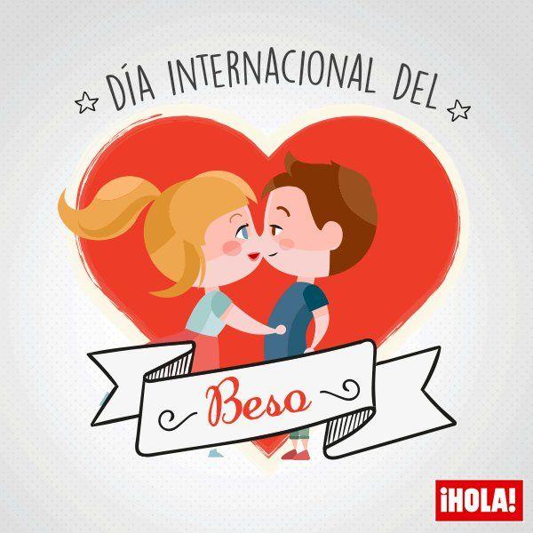 El 13 de abril se celebra el día mundial del beso