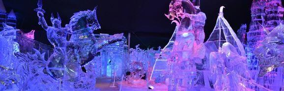 """Belgien: Ice Magic - Eisskulpturen-Show in Brüssel (rf) Das internationale Festival der Eisskulpturen """"Ice Magic"""" findet vom 20. Dezember 2013 bis 9. Februar 2014 in Brüssel statt. Ausstellungsort in der belgischen Hauptstadt ist der Place des ...  Mehr: http://www.reisefernsehen.com/reise-news/reise-news-europa/7115a29d1187d07-belgien-ice-magic-eisskulpturen-show-in-bruessel.php"""