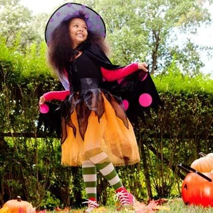 DIY Witch Costumes : DIY Homemade Witch Costume