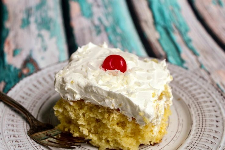 Have had several similar cakes in the past, but think I've tweaked this one pretty well!  (My family thinks so!)    It's light and refreshing, and it is actually better after a couple of days!  Time allows the cake to become moister and more flavorful.  This is a great dessert for a large crowd or get together.