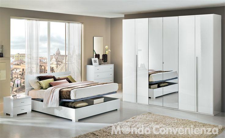 camera da letto lux - mondo convenienza | home | pinterest - Mondo Convenienza Camera Da Letto
