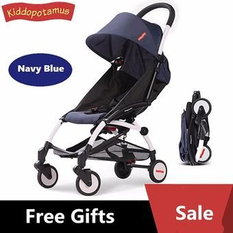 Buy Kiddopotamus® 5.8kg Cabin size Ultra Lightweight one hand fold baby stroller - Carriage Infant Travel Flight yoyo/yoya/Quinny/Maclaren/Recliner/Capella/Combi/Maxi/Cosi/Buggy/Bugaboo/Mothercare/Mamalove/Joovy/Goodbaby/Micralite/Jogger styled online at Lazada. Discount prices and promotional sale on all. Free Shipping.