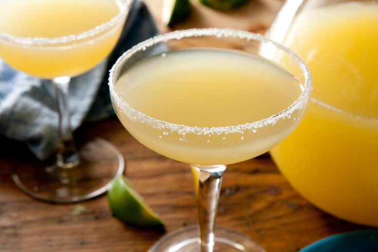Pitcher Perfect Margarita. 8 cups cold water 1 liter 100 percent agave tequila, chilled 2 (12-ounce) cans frozen limeade, thawed in the refrigerator 4 ounces frozen concentrated orange juice (1/2 cup), thawed 1/4 cup bottled lime juice