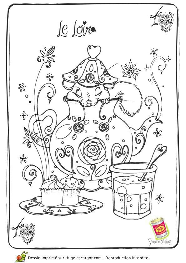 The 82 best Teacup coloring pages images on Pinterest