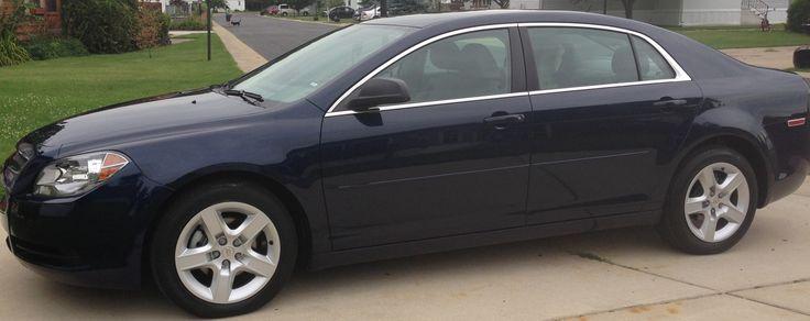 2011 Chevy Malibu Metallic Blue
