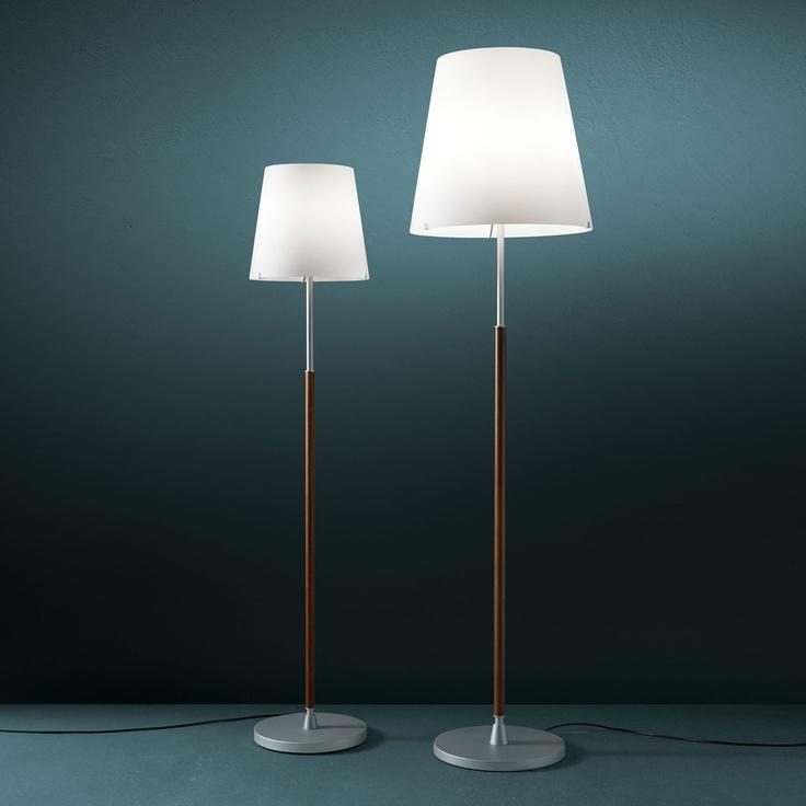2198 lighting floor lamp with dimmer satin aluminium for White floor lamp with dimmer
