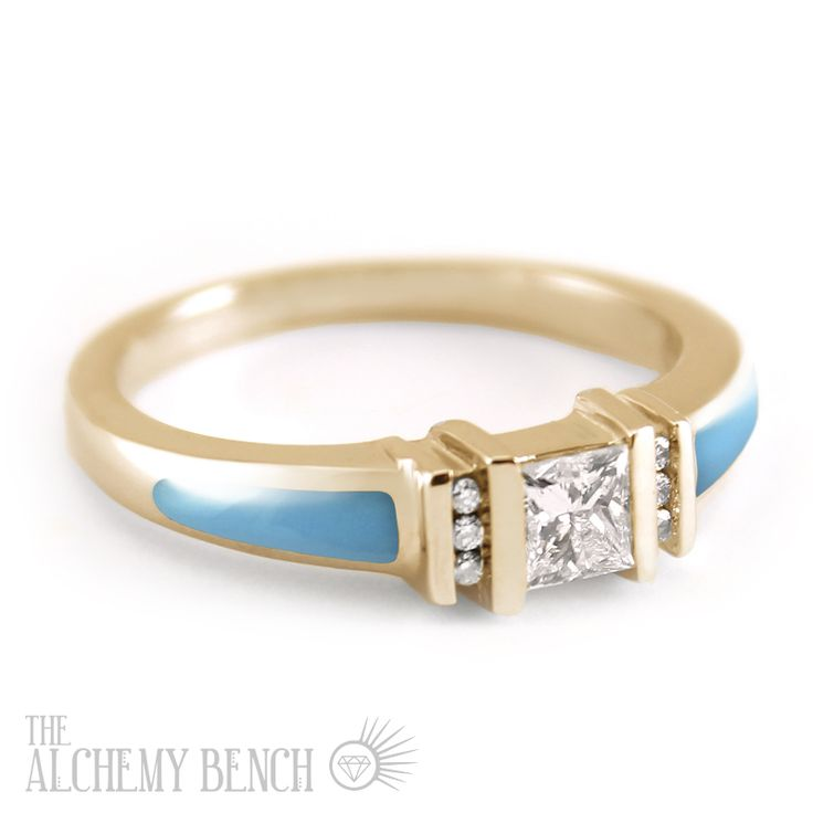 17 Best ideas about Turquoise Engagement Rings on Pinterest