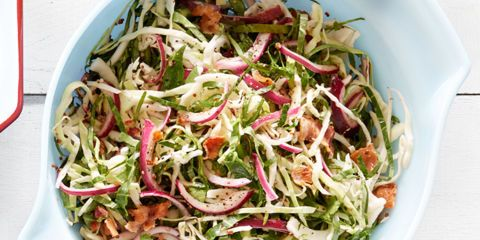 Tangy Collard and Cabbage Slaw