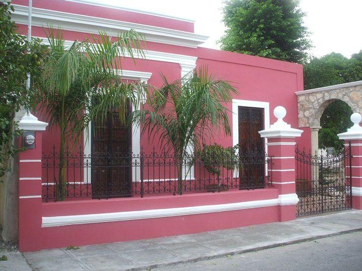 20 best colores fachadas images on pinterest balconies for Colore de pintura para casa