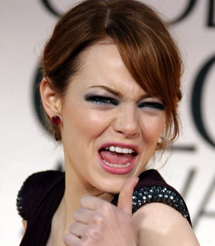 Funny and priceless celebrity expressions - msn.com