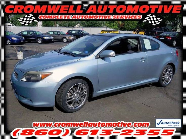 This 2006 Scion tC is listed on Carsforsale.com for $4,495 in Cromwell, CT. This vehicle includes Front Air Conditioning, Cargo Area Light, Cargo Cover, Center Console - Front Console With Storage, Cruise Control, Cupholders, Multi-Function Remote - Keyless Entry, Multi-Function Remote - Trunk Release, Power Outlet(S) - Front, Power Steering, Reading Lights - Front, Steering Wheel - Tilt, Steering Wheel Mounted Controls - Audio, Steering Wheel Mounted Controls - Cruise Control, Storage…