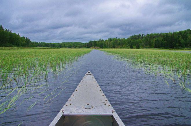 Canoeing the Caddy Lake Circuit, Manitoba. #exploremb