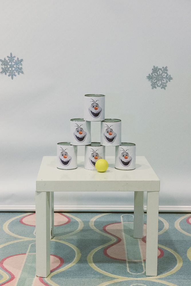 Party Games Snowman Toss