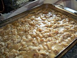 A great way to enjoy your turkey dinner all over again without having to heat everything up separately. You will use up all your leftovers and love the savory taste of this flavorful casserole.