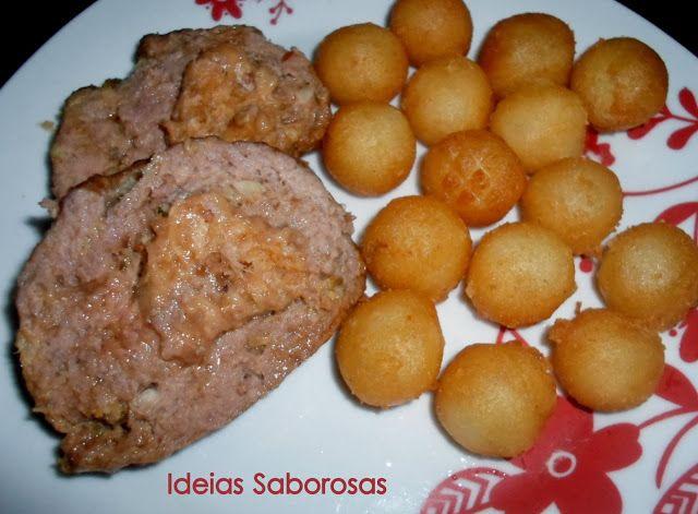 Rolo de Carne com Alheira