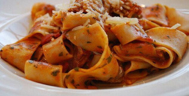 Hearty lamb shank ragu with power pumpkin pasta | MMA Kanvas