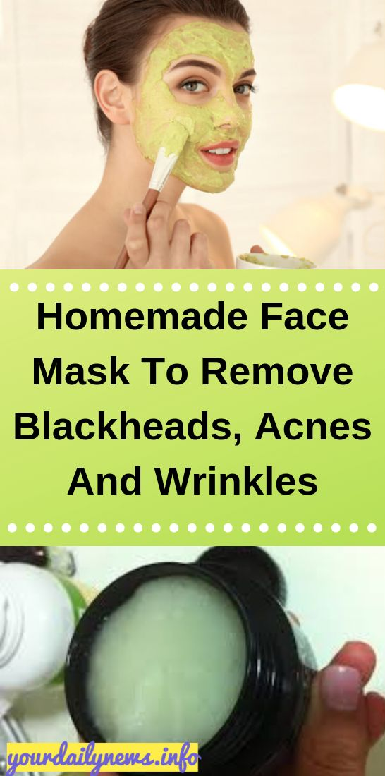 Homemade Face Mask To Remove Blackheads, Acnes And…