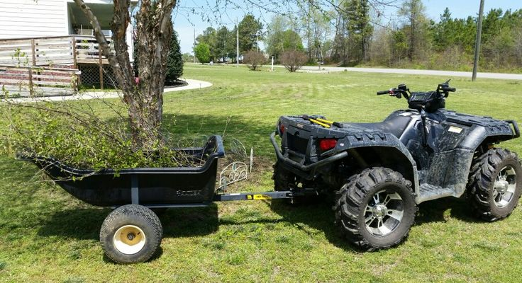 Polaris Sportsman XP 850 great for work and play!