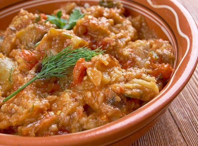 Zaalouk - piatto marocchino di melanzane
