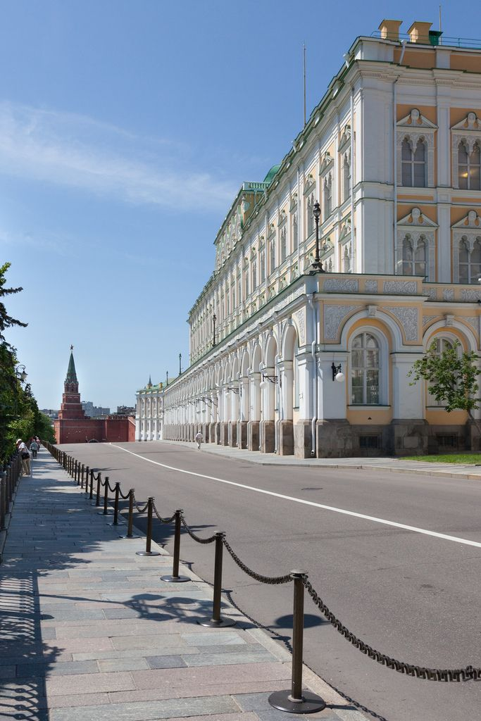 The Great Kremlin Palace, Moscow. Russia
