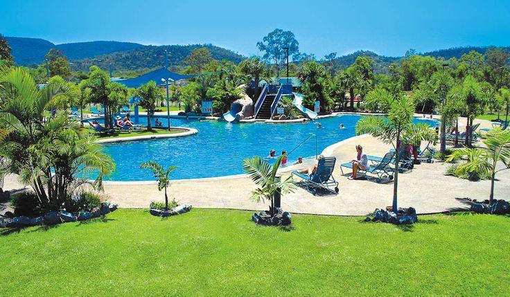 Big4 Adventure Whitsunday Resort was voted the best caravan park or campsite in Australia by @Tony Finnemore Traveller Magazine.