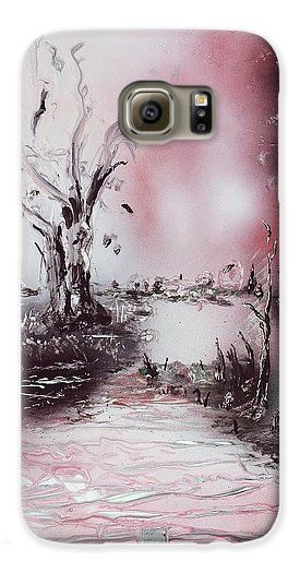 Porcelain River Galaxy S6 Case Printed with Fine Art spray painting image Porcelain River by Nandor Molnar (When you visit the Shop, change the orientation, background color and image size as you wish)